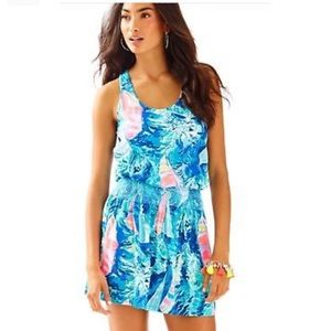 NWT Lilly Pulitzer tide line dress hey bay bay